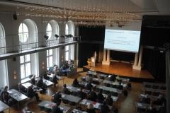 Das Plenum in der Redoute Passau von oben (© Robert Geisler)