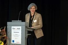 Begrüßung durch die Präsidentin der Universität Prof. Dr. Carola Jungwirth (© Robert Geisler)