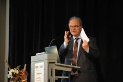 Abschlussvortrag von Herrn Prof. Dr. Dirk Heckmann, Leiter der Forschungsstelle For..Net (© Robert Geisler)