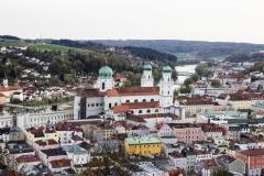 Blick über Passau (© Patrizia Fenzl)