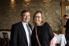 Prof. Dr. Wilfried Bernhardt und Elke Heckmann bei der Abendgala (© Patrizia Fenzl)