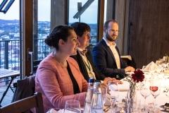 Gäste des Symposiums vor dem festlichen Abendessen (© Patrizia Fenzl)