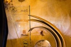 Der For..Net-Award 2018 verliehen an die eBlocker GmbH (© Patrizia Fenzl)