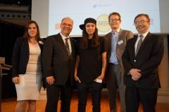 Gruppenfoto der Referenten und Prof. Dr. Dirk Heckmann (© Robert Geisler)