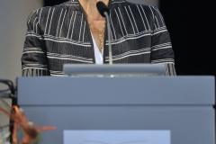 Begrüßung durch die Präsidentin der Universität Passau Prof. Dr. Carola Jungwirth (© Robert Geisler)