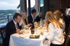 Gäste des Symposiums beim festlichen Abendessen