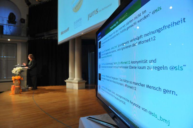 Über das Symposium wurde fleißig auf Twitter debattiert