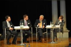 Podiumsdiskussion mit Dr. Phillip W. Brunst, Prof. Andreas Bönte, Matthias Kammer und Dr. Christian Stöcker